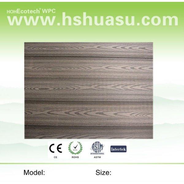 fácil instalación de pared de wpc panel