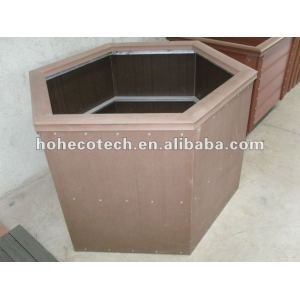 Wood Plastic composite wpc Flower box