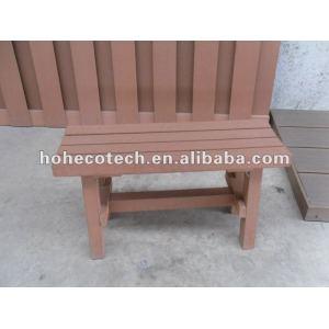 Compuesto plástico de madera wpc banco de madera/silla pequeña