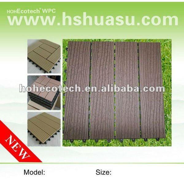 china fabricante de la fuente del jardín wpc cubierta de tejas