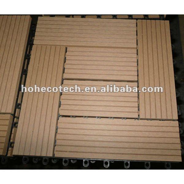 Anti - deslizamiento compuesto wpc azulejo de piso