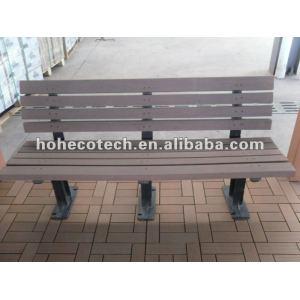 Chaise en bois de wpc composé en plastique en bois