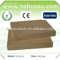 Reciclado de plástico de madeira ao ar livre de wpc decks ( ce rohs )