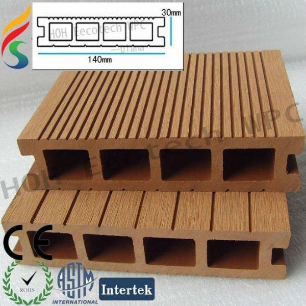 la construcción de la cubierta materiales de wpc compuesto