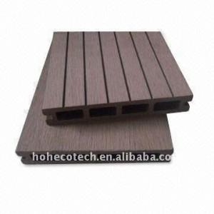 Hohlen 146*25mm modell nach - länge wpc holz-kunststoff-verbundmaterial decking/bodenbelag boden board ( ce, rohs, astm ) wpc-decking boden