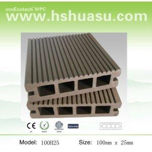 la cubierta 100x25mm tableros compuestos