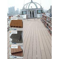 Прочная древесина и пластичные составные настил/decking (сделайте водостотьким/Wormproof/Anti-UV/упорная для того чтобы запреть и прессформа)