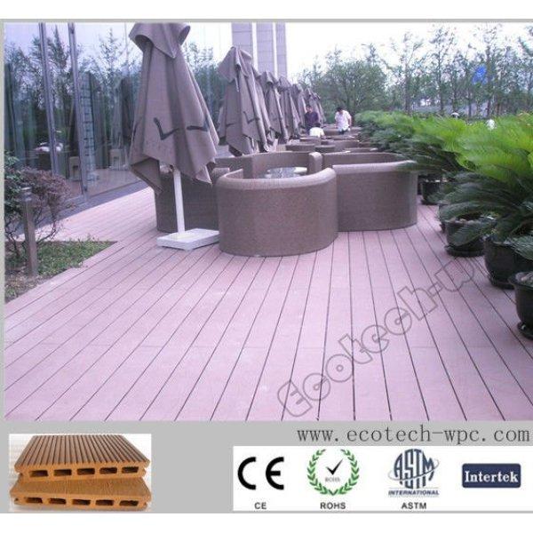 compuesto plástico de madera decking del wpc