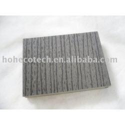 Tablero de suelo popular del wpc (DK. Color gris)
