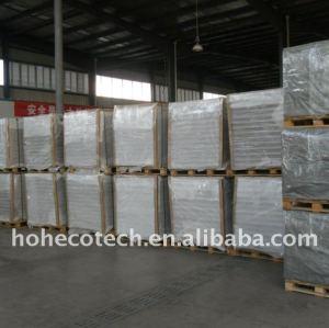Paquet de palette du decking composé en plastique en bois du matériau de construction WPC/du decking wpc de plancher