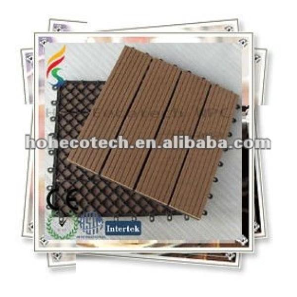 Umweltfreundliche hölzerne zusammengesetzte Decking-/Fußbodenplastikfliese (30S30-5)