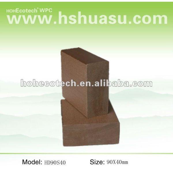 Vendita calda! Prova di acqua ( in legno composito di plastica ) wpc ringhiera delle scale/ringhiera giardino
