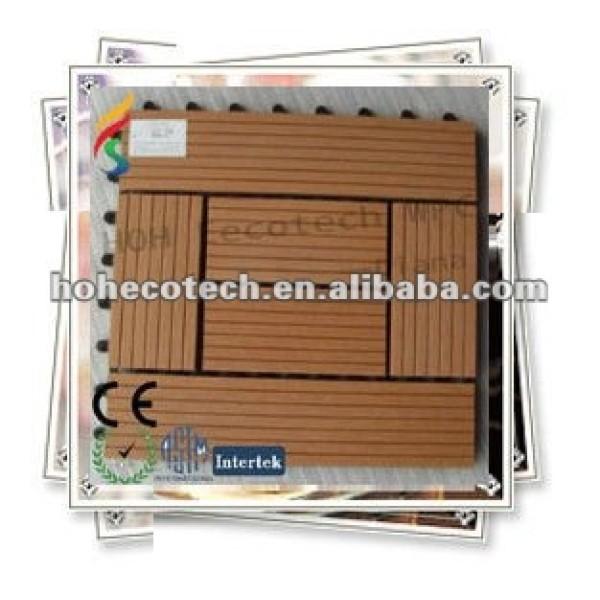 Venta caliente 300*300mm eco - ambiente de bricolaje wpc azulejo ( ce rohs )