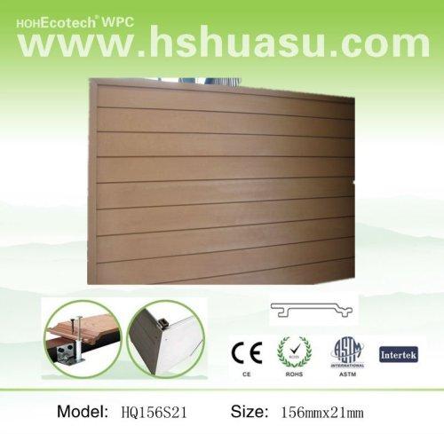 legno composito di plastica wpc pannelli a parete