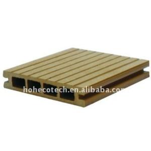 Wpc decking compuesto compuesto de madera plataforma/suelo