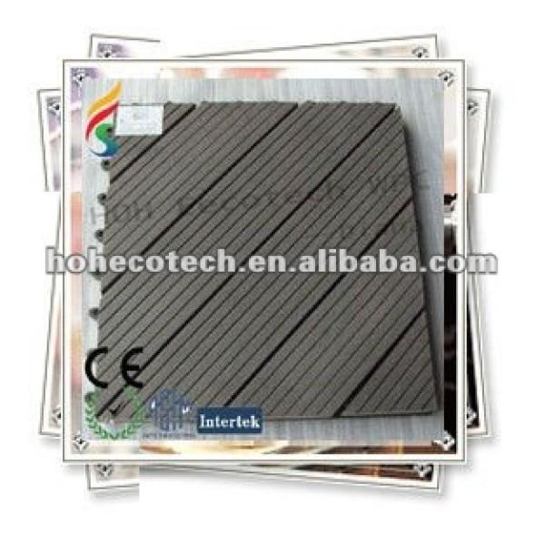 China produzierte umweltfreundliche hölzerne diy Plastikfliese der Qualitäts (CER ROHS)