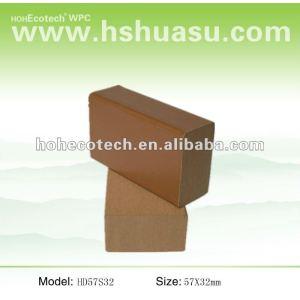 ¡Venta caliente! Riegue el pasamano de la escalera del wpc de la prueba (compuesto plástico de madera)/el pasamano del jardín