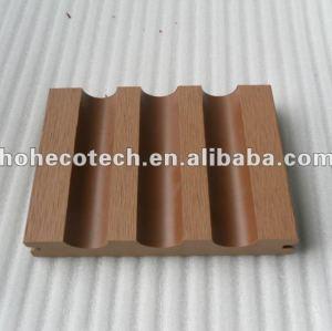 Decking de WPC/bois de construction composés en plastique en bois en bois wpc du plancher 140x23mm (CE, ROHS, ASTM, OIN 9001, OIN 14001, Intertek)