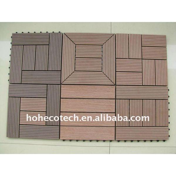 Fácil instalación de la sensación natural de bricolaje del azulejo - - wpc