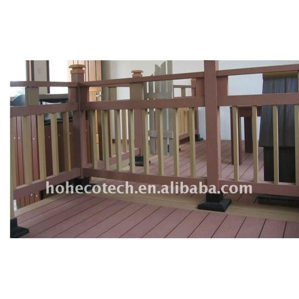 Pasado el iso9001 y iso14001 de garantía de calidad de madera - materiales compuestos de plástico tablero decking del wpc