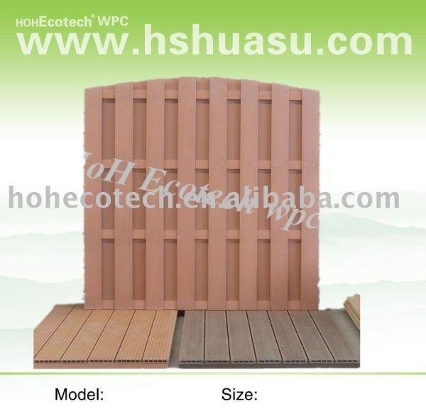 Wood plastic composite esgrima