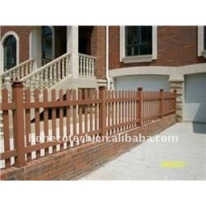 wpc post WPC railing wpc wood fence PUBLIC places Decoration wpc fencing
