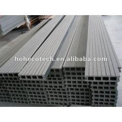 140x30mm favorable al medio ambiente, 100% reciclables de lijado de wpc compuesto plástico de madera decking/suelo compuesto cubiertas