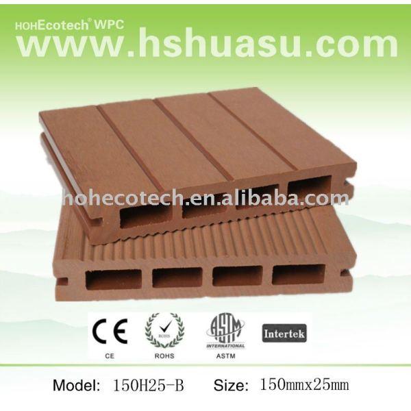 matières composites en plastique en bois