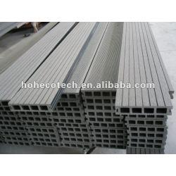 140x30mm públicos al aire libre de mimbre/madera decking compuesto plástico de madera decking/suelo junta cubierta de teja wpc entarimado de madera