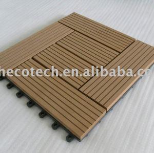 Suède.- bois plastique composite decking/carrelage- uneinstallation facile