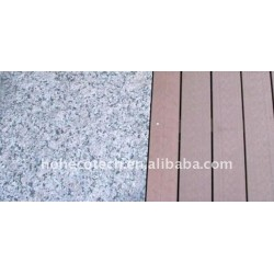 /balcón interior/al aire libre del wpc compuesto plástico de madera decking/suelo ( ce, rohs, astm, iso 9001, iso 14001, intertek )