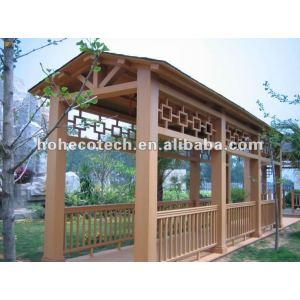 Bom design plástico compósito de madeira varanda quadros ( com certificados )