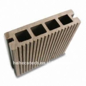 Mouler-preuve FACILE de nettoyer la plate-forme composée d'intérieur du panneau de plancher WPC (CE, ROHS, ASTM, ISO9001, ISO14001)