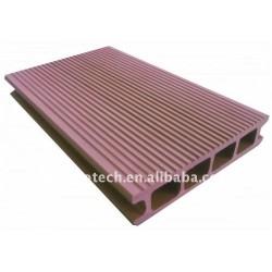 Grossist WPC des hölzernen zusammengesetzten Plastikdecking/des Bodenbelags (CER, ROHS, ASTM, ISO 9001, ISO 14001, Intertek)