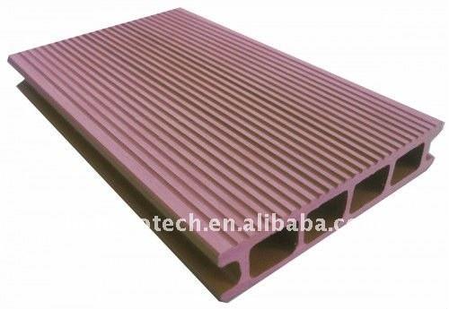 Grossiste du decking de WPC/du plancher composés en plastique en bois (CE, ROHS, ASTM, OIN 9001, OIN 14001, Intertek)