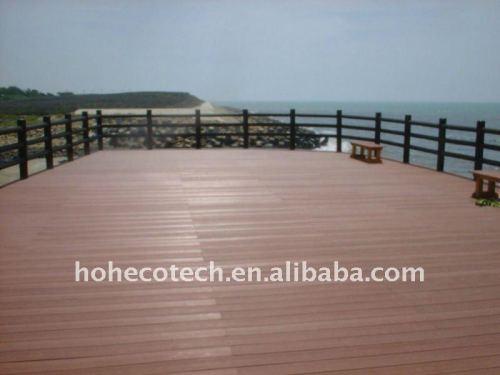 garantie composée en plastique en bois de QUALITÉ de decking/plancher