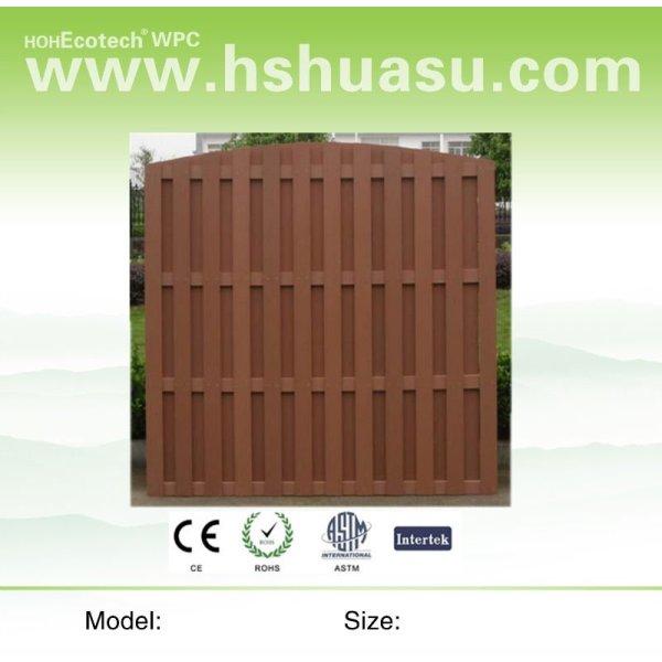 legno composito di plastica wpc recinzione