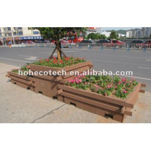 wood plastic composite flower box