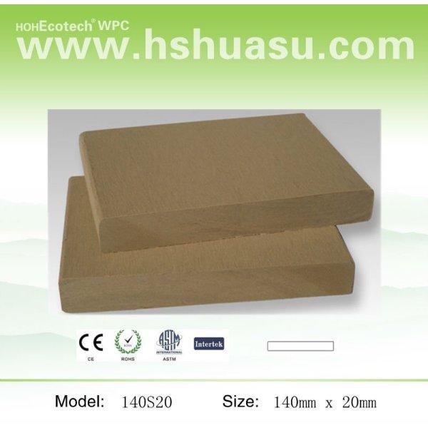 140x19mm composite bois plastique chine