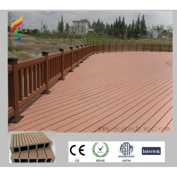 verdrängter Decking verschalt ökologischen WPC zusammengesetzten Decking für Lache oder Garten