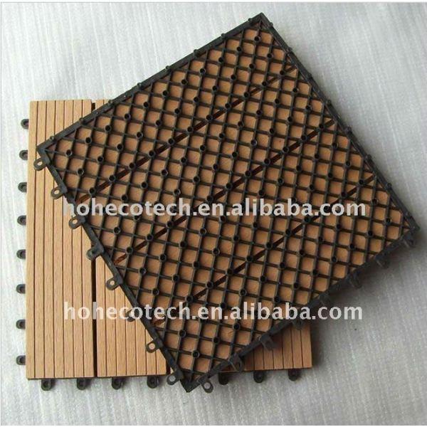 ( ce, rohs, astm, iso9001, iso14001, intertek ) fashional del hogar/suelo al aire libre/decking del wpc decking pisos de madera