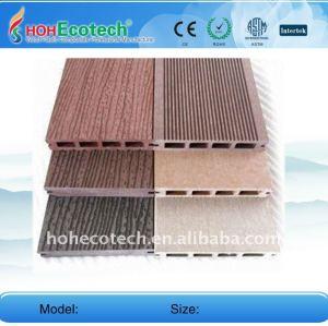 Wpc plancher composite bois plastique usine/carrelage