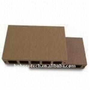 Pisodeplástico/piso compuesto de madera y madera decking del wpc/wpc suelo pisodeplástico