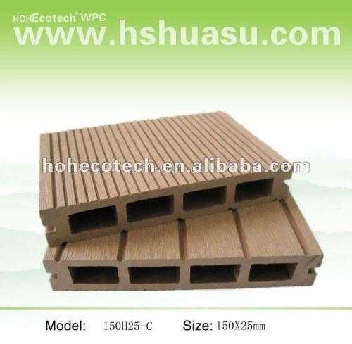 colore stabilità e verde deco materiale impermeabile decking di wpc
