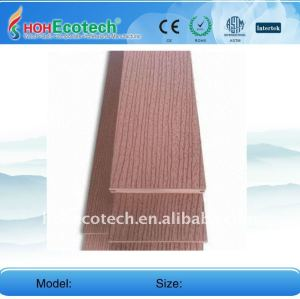Decking composé en plastique en bois de Decking extérieur de tuile de /floor de plancher de WPC