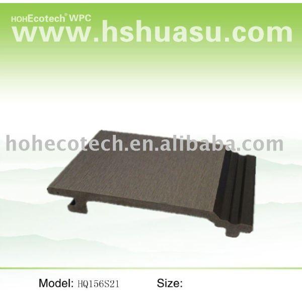 Wpc revestimiento de la pared ( para usar al aire libre )