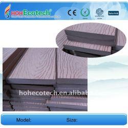 Realzando la superficie 140*20mm wpc compuesto plástico de madera decking/wpc suelo junta piso decking del wpc piso