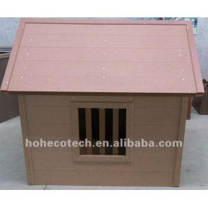 maison composée en plastique en bois d'animal familier