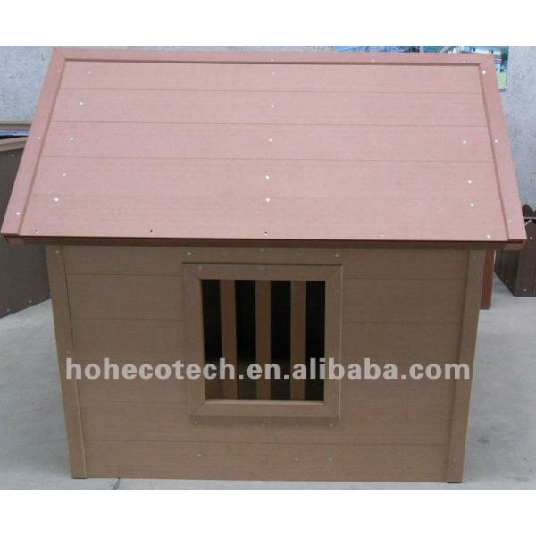 hölzernes zusammengesetztes Haustierplastikhaus