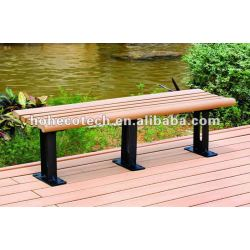 wood plastic composite sand beach chairs